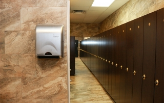 commercial tile walls and floors
